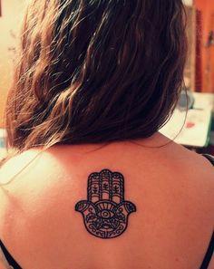 Hamsa tattoo. want this really bad!