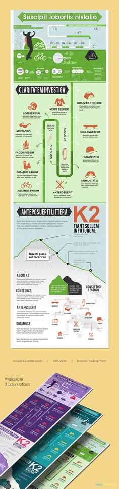 Sports Infographics PSD Template With Vector Elements in 3 Colors Infographic Templates, Infographics, Comic Template, Sensory Diet, Color Themes, Colors, Best Templates, Report Template, Lorem Ipsum