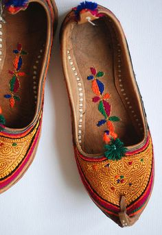 Afghan house shoes