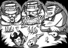 Don't Starve - Trolls by ErinNoein