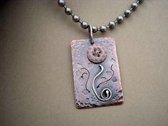 Vintage Button Flower Necklace | by AdobeSol
