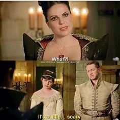 Awesome Regina Snow Charming (Lana Ginny Josh) before the awesome Camelot ball in the awesome Once S5 E2 #ThePrice aired Sunday 10-4-15