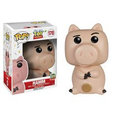 This is a Disney Toy Story Hamm POP Vinyl Figure that is produced by Funko. Fans have been eagerly awaiting the release of the Toy Story POP Vinyl's and now they're finally starting to surface. Hamm l Disney Pop, Film Disney, Disney Pixar, Figurines D'action, Figurines Funko Pop, Funko Figures, Funk Pop, Figurine Pop Disney, Pop Figurine