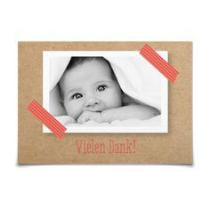 Dankeskarte Masking Tape www.goldbek.de
