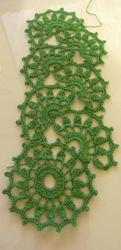 Ленточное кружево (Crochet Lace Tape)