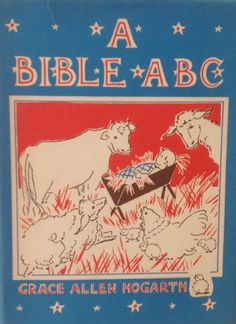 A Bible ABC Brilliant 1941 Tiny Book for Children by drcarrot