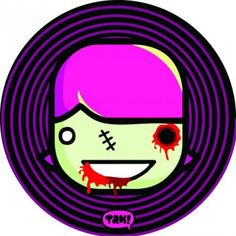 Cute zombie girl