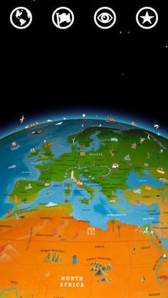 Barefoot World Atlas - Engaging app featuring an interactive 3D globe. Very well done and currently FREE!