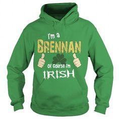 Brennan - I'm Irish Hot Trend T-shirts