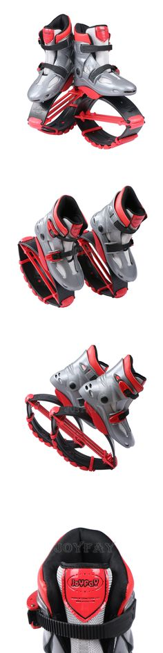 Other Fitness Equipment and Gear 28065: Kangoo Jumps Shoes Grey/Red Jumping Boots Bouncy Shoes Spring Fitness Shoes BUY IT NOW ONLY: $100.57