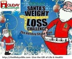 Looking for gifts for Christmas?  How about the gift of life, health, & prosperity?  When so many ppl are suffering from obesity & health problems, this is a perfect time to join the 90 day Body by vi Challenge.  Join as a customer, pick from our 7 challenge kits on what's right for you. Refer 3 & get your kit for FREE!  Join as a Promoter & get paid to help ppl & save lives.  Msg me thelifebyvilife.90daychallenge@gmail.com  And visit my site http://thelifebyvilife.com for more info.
