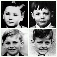 The future Beatles when they were children
