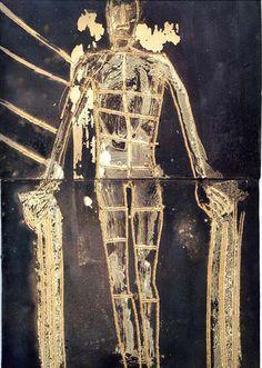 Mimmo Paladino, Maesta 4, 1998 #contemporary #art #aprilfeature #ZB #mixedmedia