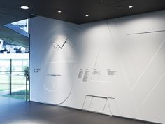 adidas laces - signage system and interior design