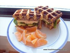 Mutritious Nuffins: Grain-free Waffles.