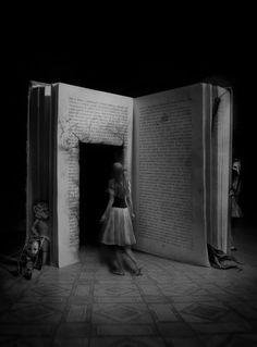 Alice | wonderland | story | black  white | photography | make believe | old story | classic | rabbit hole