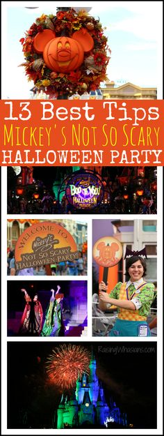 Best Family Tips for Mickey's Not So Scary Halloween Party