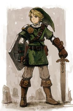 For some reason this version of link reminds me of a character concept for Final Fantasy. anyone else??