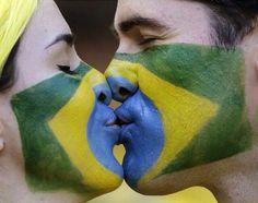 Copa do Mundo Brasil 2014 kiss