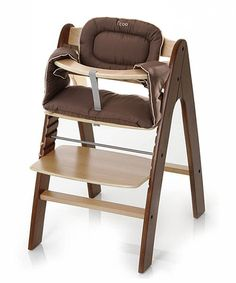 i'coo Walnut & Natural Pharo High Chair