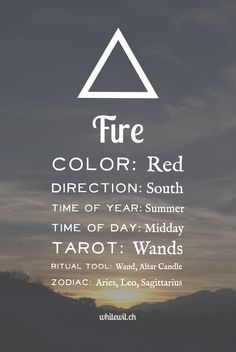 Elements Fire:  #Fire.