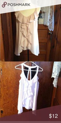 ❌final price ❌💘Ruffle top💘 Nwot Maurices Tops Tank Tops