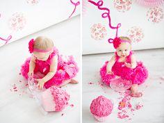 Cake Smash fotoshoot - voor de eerste verjaardag - Fotografie Lydia