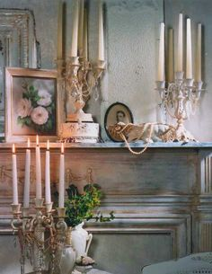 Romantic Cottage Style Decorating | ... head board in my bedroom. (this photo is from Romantic Country too