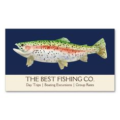 154 best fishing business cards images on pinterest business cards simple fishing charter boat guide business fish business card colourmoves