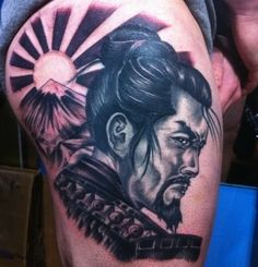 Samurai date back to the 1600s and will now be remembered forever thanks to these stellar tattoos.