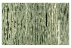Winter Lake Rug, Mossy Green/Sage