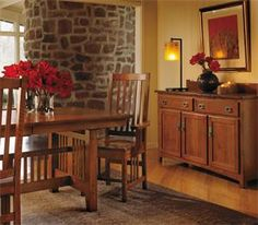 Mission furniture never goes out of style!