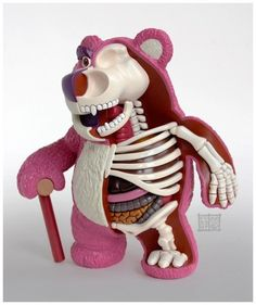 Lotso Huggins Crazy Sculptures Show Your Favorite Childhood Toys From The Inside • Page 3 of 6 • BoredBug