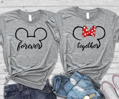 Disney engagement shirts, Disney honeymoon shirts, Disney couple shirts,Disney anniversary, Disney m Disney World Shirts, Matching Disney Shirts, Matching Couple Shirts, Disney Couples, Disney Shirts For Family, Cheap Disney Shirts, His And Hers Disney Shirts, Matching Couples, Disney Family