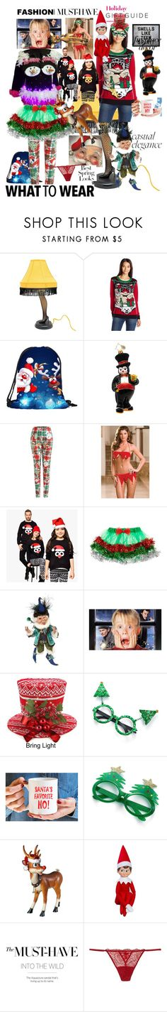 """""""Christmas Must Haves"""" by kris-kripli ❤ liked on Polyvore featuring Christopher Radko, WithChic, Elf on the Shelf, H&M and Hatcher & Ethan"""