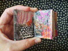 mini journal #4 - by bun blog - artist: Roxanne Coble