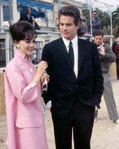 Hollywood Couples, Hollywood Star, Golden Age Of Hollywood, Classic Hollywood, Hollywood Icons, Natalie Wood, Warren Beatty, Sean Penn, Marion Cotillard