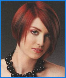 Short haircuts for women . ..Do you love short hair cuts? We've got all your short hair favorites from layered bobs to crops and pixies. Come on in, and check it out now!  Fine Thin Hair cut in a bob with multi colored red high lights