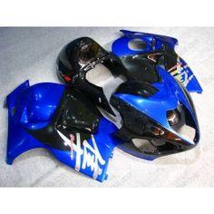 Suzuki GSX-R 1300 Hayabusa 1996-2007 Injection ABS Fairing - Others - Blue/Black | $699.00