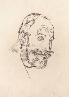 Egon Schiele - Franz Hauer, 1914