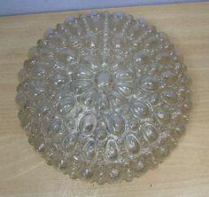 60´s Flusmount Bubble Lamp Mid Century