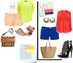 Shirt and shorts!, created by wakesho-eddah on Polyvore