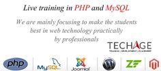 Live Training in PHP MySQL in Noida,PHP Training,Web Development Training,WordPress Training in Noida With Techage Academy Call For MOre Details : +919212043532, +91-9212063532 OR Visit:  http://www.techageacademy.com/courses/php-training