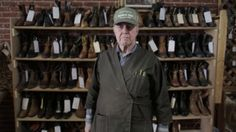 George Ziermann has been making custom measured, hand made shoes for 40 years. He's looking to get out, but can't find anyone to carry on his business. Anyone want to become a bootmaker? This guy is incredible. Pendleton Oregon, Best Short Films, How To Make Shoes, Moving Pictures, Traditional Art, Leather Craft, Good People, Work Hard, Outer Space