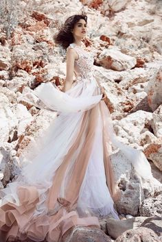Gloria Wedding Gown.. Be inspired!  Otilia Brailoiu Atelier dress from Cruise 2016 Collection.