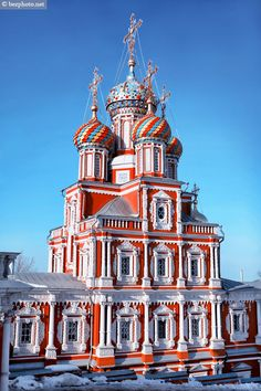 Stroganov Church in