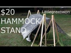 ▶ $20 DIY Hammock Stands - YouTube