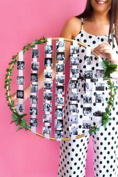 Bedroom art diy photo displays new Ideas Diy Wedding Gifts, Wedding Blog, Wedding Photos, Diy Photo, Photo Ideas, Bedroom Art, Diy Bedroom Decor, Decoration Creche, Decorations