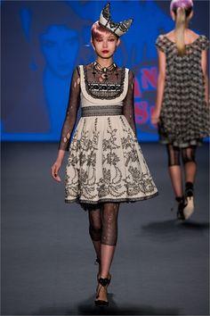 Sfilata Anna Sui New York - Collezioni Primavera Estate 2013 - Vogue