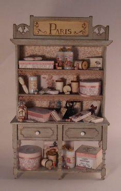 Miniature Shop: Filled Hutch by Pedrete